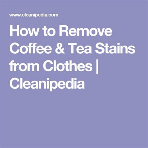 how to remove coffee stains from white shirt tea stains remove coffee stains and how to remove on pinterest