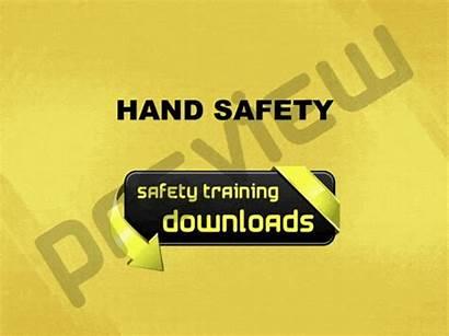 Safety Hand Powerpoint Training Presentation Package Talk