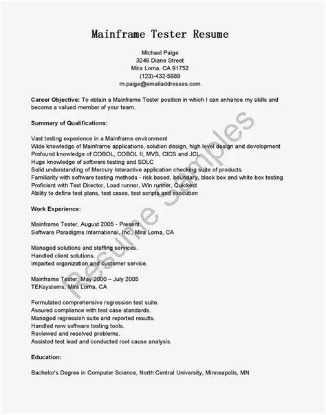 Cover Letter For Qa Tester Resume Sample Testing Jobs Examples