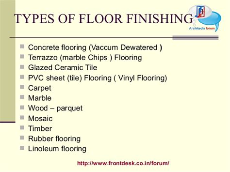 types of flooring materials ppt types of flooring ppt meze