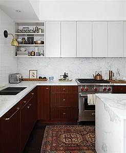 stylish two tone kitchen cabinets for your inspiration 1451