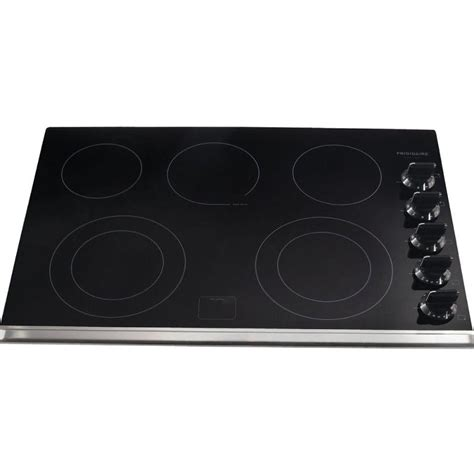 electric cooktop frigidaire glass inch cooktops smoothtop cooking ceramic elements appliances depot compare
