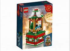 LEGO Seasonal 2018 Christmas Carousel 40293 Revealed