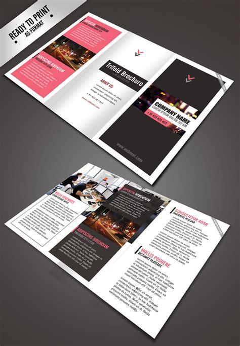 Simple Brochure Design by 11 Simple Corporate Trifold Brochure Design Templates