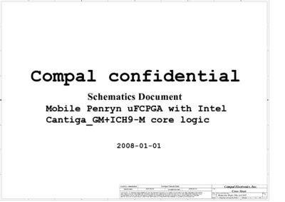 Compal La4101p R03 Schematics, Service Manual, Repair