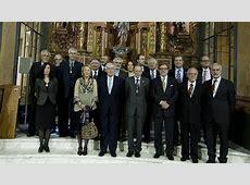 En la imagen, los miembros de la Real Academia Española