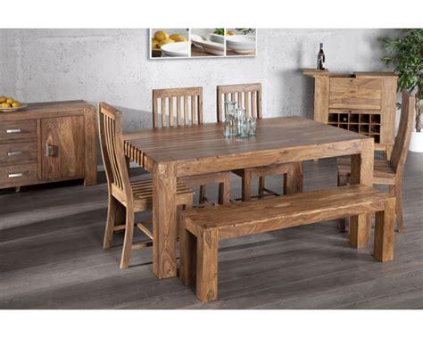 salle a manger bois massif contemporain design d int 233 rieur et id 233 es de meubles