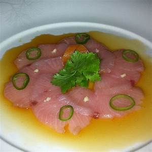 yellowtail sashimi with jalapeno at Nobu   Recipes ...