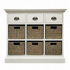 White Chest Of Drawer Wicker Baskets Buy Online Small