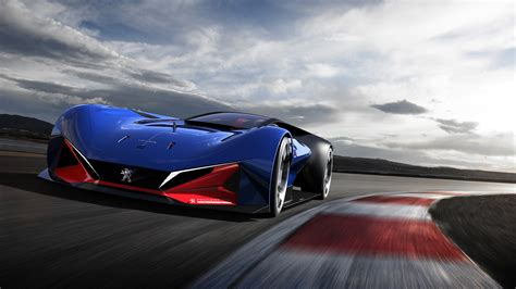 Wallpaper Peugeot L500 R Hybrid Racing Concept Cars 4k