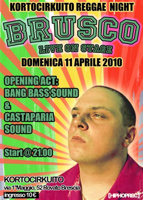 Brusco Testi by Brusco Kortocirkuito 11 04 10 Hip Hop Rec