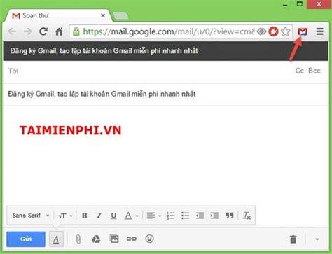 c 225 ch gửi email tr 234 n coccoc chrome kh 244 ng cần đăng nhập gmail