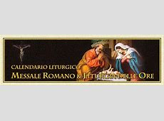 Calendario Liturgico Cattolico 2019 1 di 4