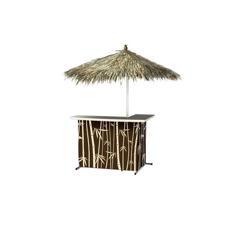 best of times tiki all weather l shaped patio serving bar
