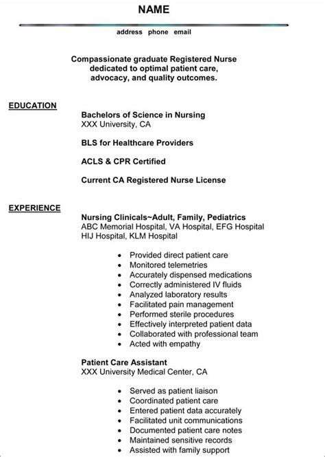 pin  shannon slattery    home nursing resume