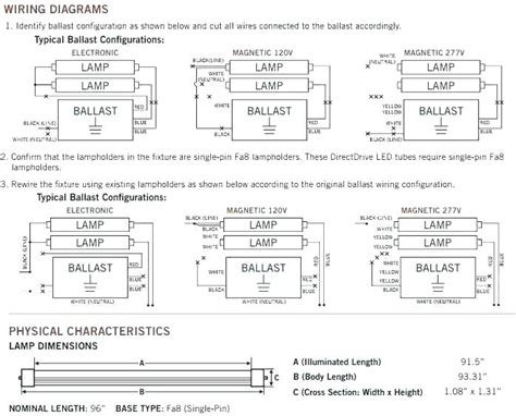 Ho 4 Bulb Ballast Wiring Diagram by T12 4 L Ballast Vs Wiring Diagram Fluorescent Light For