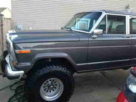wagoneer jeep lifted sell used 1987 lifted jeep grand wagoneer in virginia