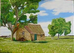 Maison à La Campagne : une vielle maison a la campagne photo de mes oeuvres joe glennon ~ Melissatoandfro.com Idées de Décoration
