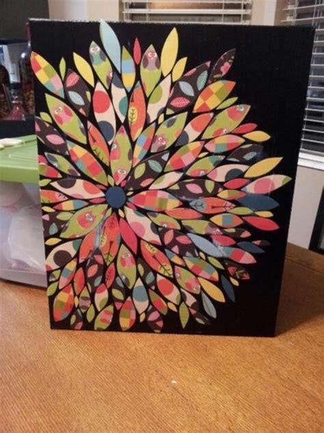 diy canvas craft ideas  kill time bored art
