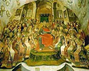 The Council Of Nicaea (painting) Wikipedia