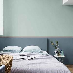 Peinture Mur Chambre : tendance couleur et peinture 2018 quelles teintes ~ Voncanada.com Idées de Décoration