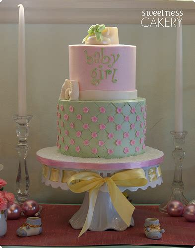 shabby chic baby shower cakes shabby chic baby shower cake flickr photo sharing