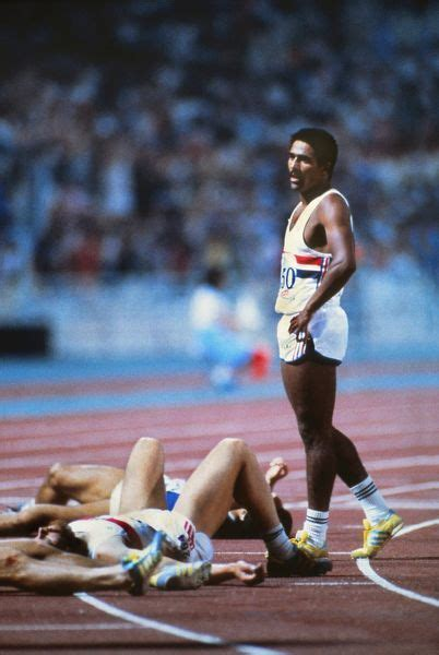 daley thompson stands   framed  wall art