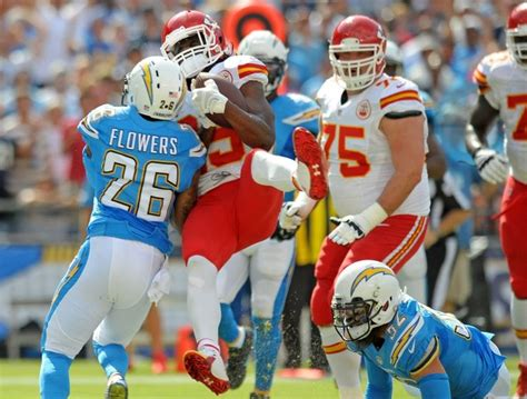 Jamaal Charles Exhibited Concussion-like Symptoms Sunday