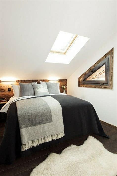 ideen fuer schlafzimmer mit dachschraege