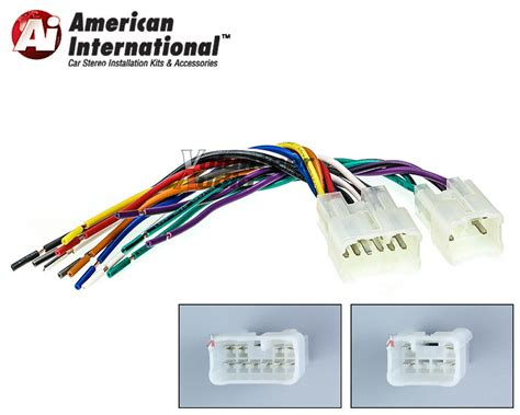 Toyota Scion Car Stereo Player Wiring Harness Wire