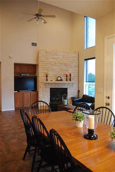 valspar baked scone   living room hallway