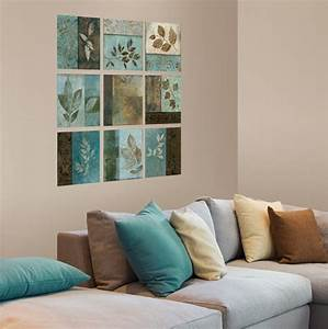 living room simple and beautiful living room wall decor With art on walls home decorating