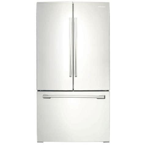 white door refrigerator samsung 25 5 cu ft door refrigerator with