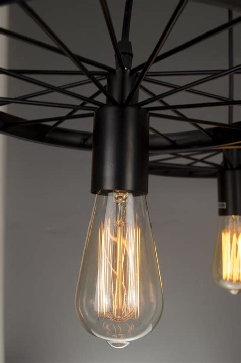 Kitchen Pendant Light Bulbs by Industrial Style Pendant Light 3 Edison Bulbs Chandelier