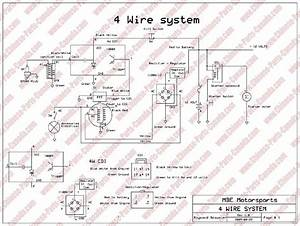 8 Best Images Of 5 Wire Cdi Wiring Diagram