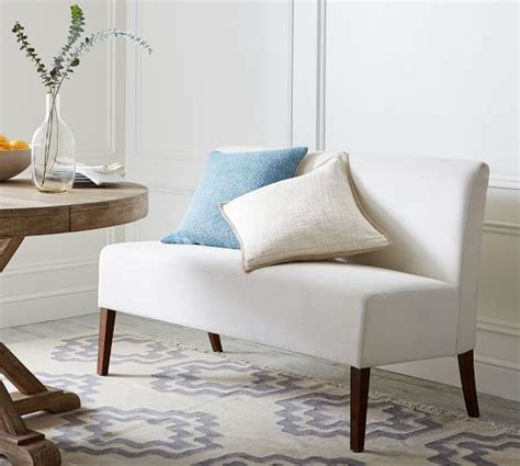 buy banquette bench highland farmhouse dining banquette pottery barn