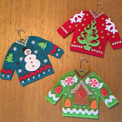 ugly christmas sweater ornaments snowman christmas