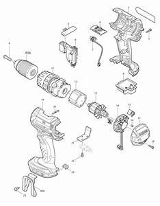 Makita Hammer Drill Parts List