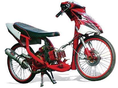 Mio J Modifikasi Racing by Gambar Modifikasi Motor Modifikasi Racing Yamaha Mio