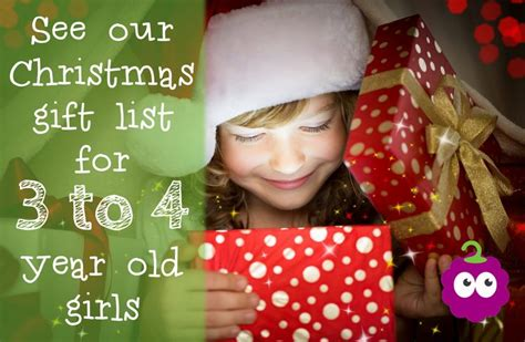 Christmas Gift List For 3 To 4 Year Old Girls Christmas