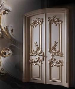 Baroque interior doors