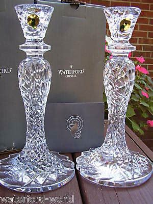 waterford seahorse abstract candleholders candlesticks ebay
