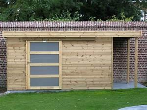 Abri De Jardin Pvc Toit Plat : beautiful abri de jardin toit plat avec bucher pictures ~ Dailycaller-alerts.com Idées de Décoration
