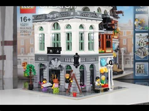 lego creator 16 lego creator 2016 set 10251 brick bank unboxing review german