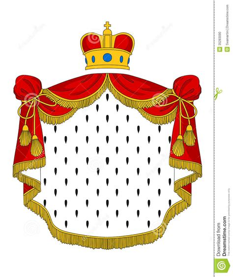 royal mantle stock photo image 35283090