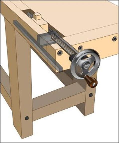 woodworking vise benchcrafted tail vise hardware lee