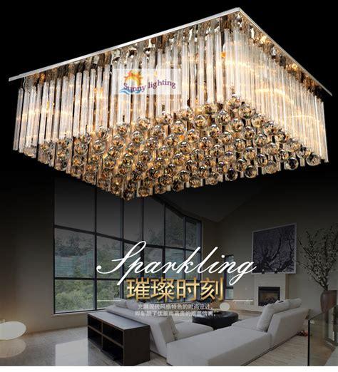 hanging lights for living room aliexpress com buy modern big luxury crystal ceiling