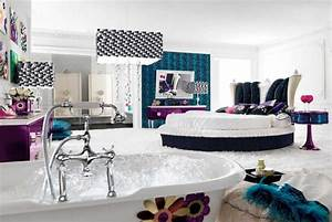 black and white bedroom designs for teenage girls With teenage girl room stylish design image