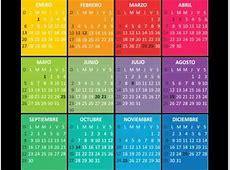 Calendario 2016 mes a mes del calendario puro pelo