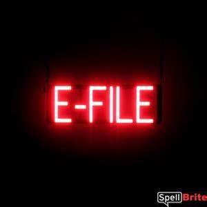 E FILE Signs